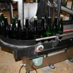 Laveuse sécheuse de bouteilles - Option : raccordement au convoyeur du client