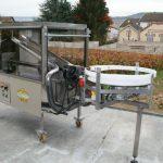 Laveuse sécheuse de bouteilles - Option : intégration d'une table tournante motorisée