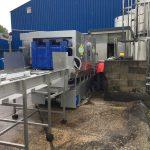 Laveuse de palox, construction en acier inoxydable - linéaire - chez Valade