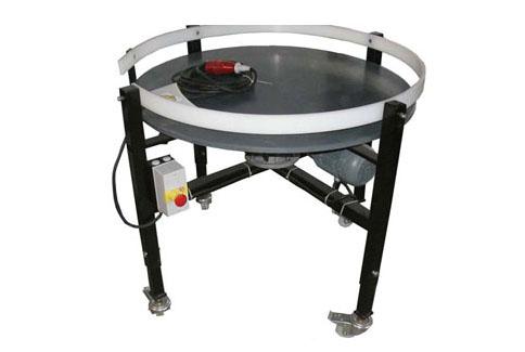 Table tournante motorisée