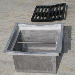 Station de traitement des effluents phytosanitaires - Panier filtre inox
