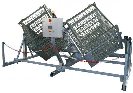 Remueur automatique - double cages et simple cage
